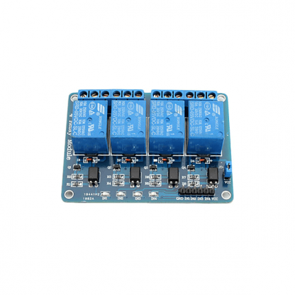 4-Channel 5V Relay Top