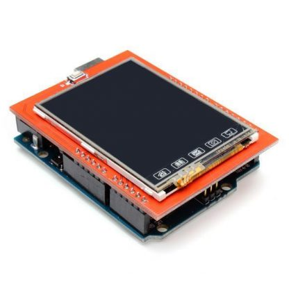 2.4'' TFT LCD Touch Shield plugged