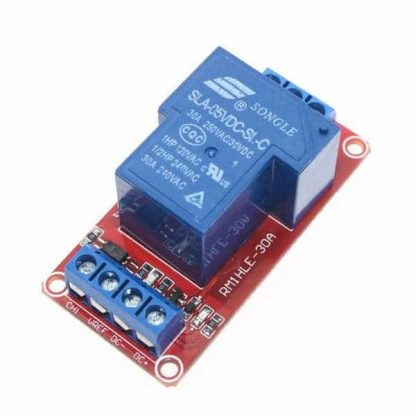 Single Channel 220V-30A 5V Relay Active High/Low Configurable