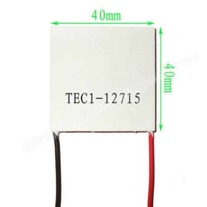 TEC1-12715 Thermoelectric Peltier Cooler (12V, 150W)