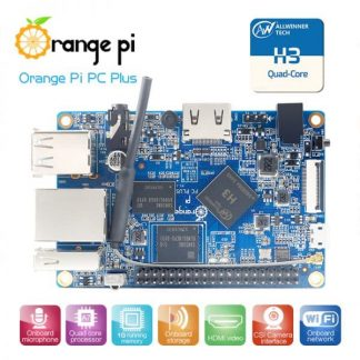 Orange Pi PC Plus Single Board Computer Quad Core ARM Cortex-A7 1GB DDR3 4K Decode