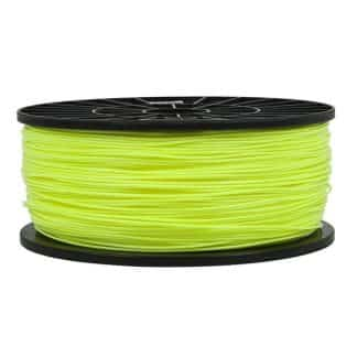 3D Printer PLA Filament 1.75mm - Yellow - 1Kg Spool