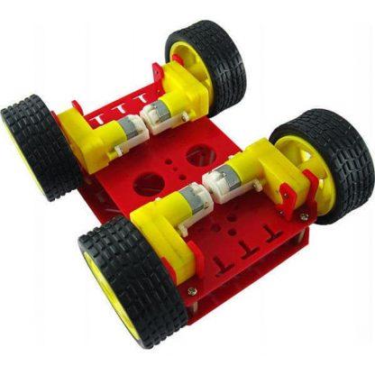 4 WD Robot Cart Bottom