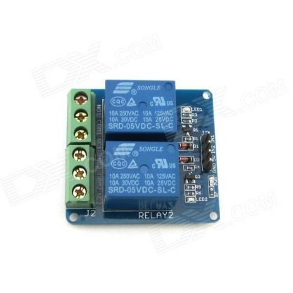 2-Channel 5V Relay Top