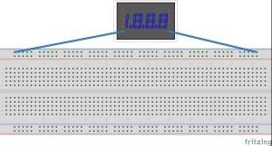 Breadboard power rail connectivity