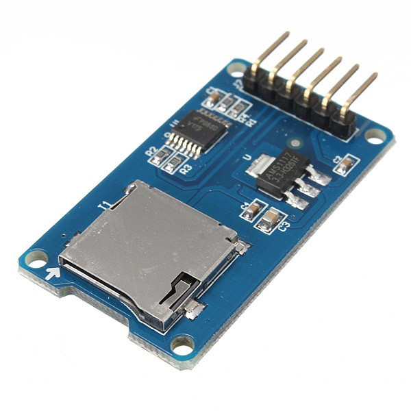 Micro sd card module main