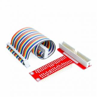 T-Cobbler Plus Breakout GPIO Adapter for Model 2/3 (Including 40 Pin Flat Cable)