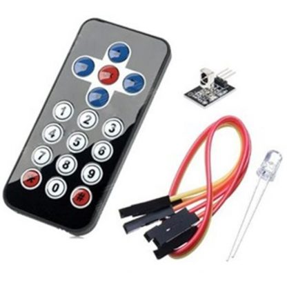 Arduino Infrared wireless remote control kit