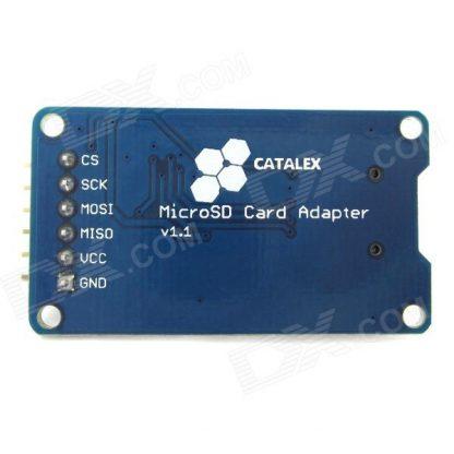 Micro SD Card Module Back