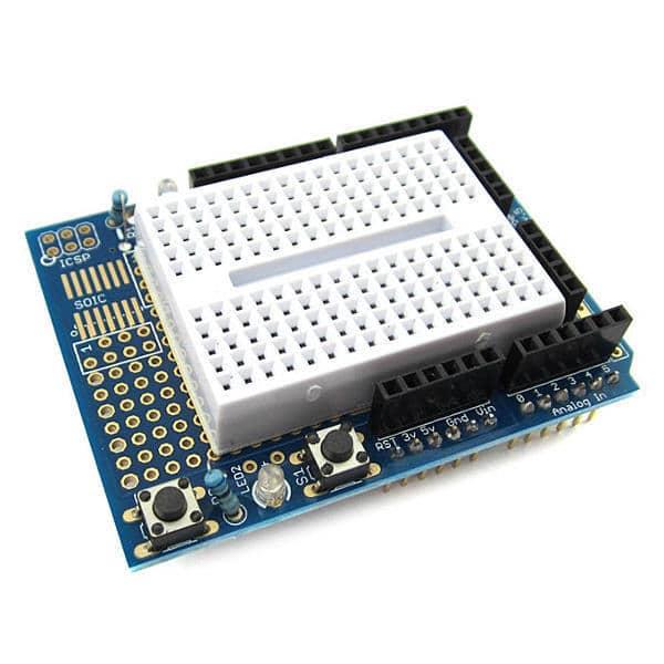 Arduino UNO Prototyping Shield Main