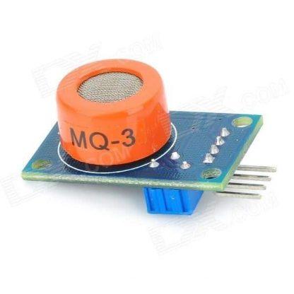 حساس الغازات الكحولية MQ3 جانبي