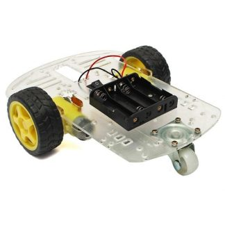 Simple 2 WD Robot Cart
