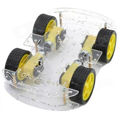 عربة ذكية للروبوت رباعية الدفع