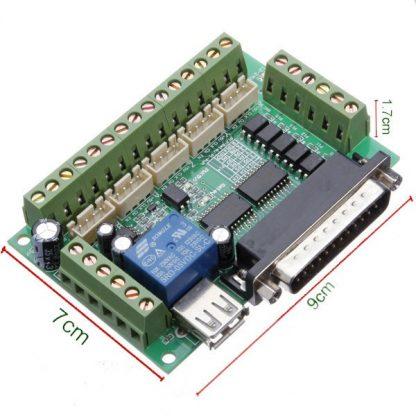 مقاسات لوحة توصيل طرفية MACH 3 لتشغيل حتى 5 محاور