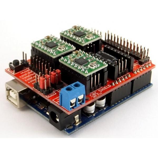 Arduino cnc shield v breakout board