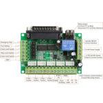 5 Axis CNC Interface Adapter Pinout