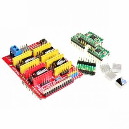 CNC Shield v3 + A4988 CNC/3D Printer Control Kit