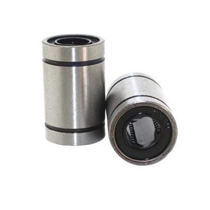 Linear Ball Bearing - 8mm diameter - LM8UU - 2 units