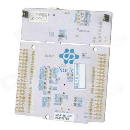 STM32 NUCLEO F401RE Board Back