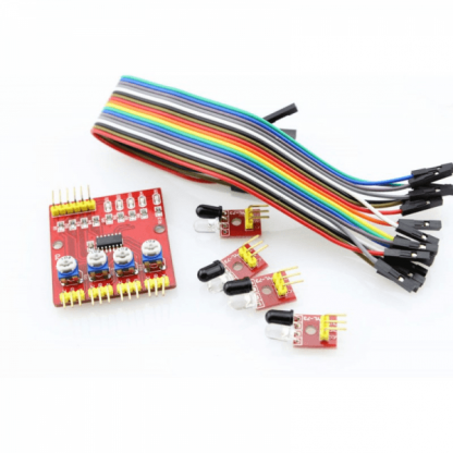 4-Way Infrared Tracing - Tracking - Obstacle Avoidance Sensor