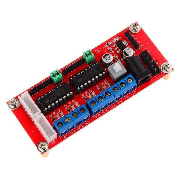 4wd dc motor driver module l293d arduino for L293d motor driver module