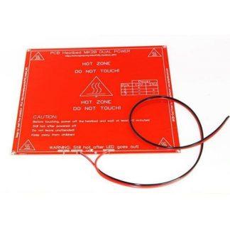 قاعدة تسخين للطابعات ثلاثية الأبعاد MK2B بالسلك