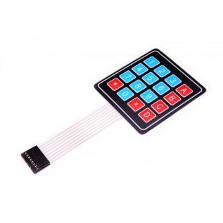 4 × 4 مصفوفة لوحة المفاتيح المرنة (16 مفتاح)