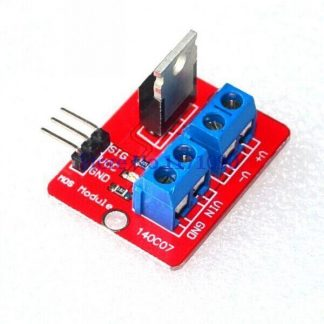 MOSFET Button IRF520 5A DC Motors Driver Module