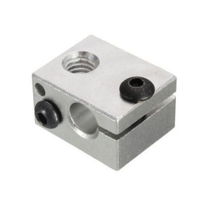 Aluminium Heat Block for E3D V6 J-head 3D Printer Extruder