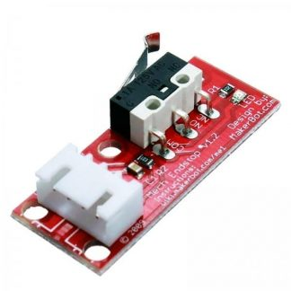 3D Printer End Stop Switch with PCB Cable and Mechanical Lever