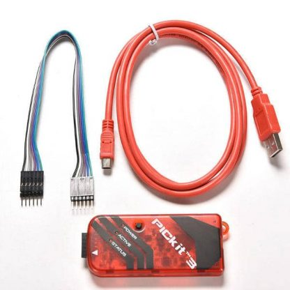 PICkit 3 Programmer/Debugger with USB and Programming Cables