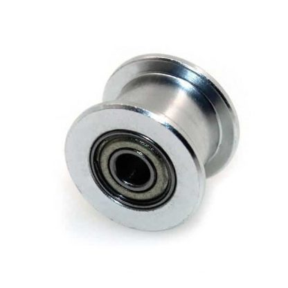 Aluminum GT2 5mm Bore - 6mm Width Perlin Passive Idler Pulley