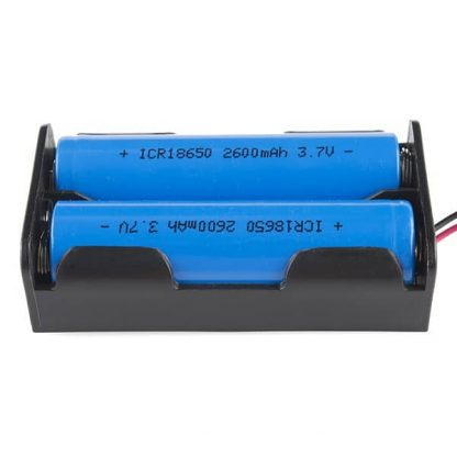 18650 Batteries in Holder Image