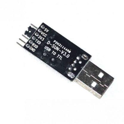 USB to TTL UART - Serial Converter, CH340G 5V/3.3V Back