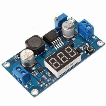 XL6009 4A DC-DC Adjustable Step-up Power Supply Module with LED Voltmeter