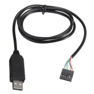 6 Pin FTDI FT232RL USB to Serial Adapter Module TTL RS232 Cable