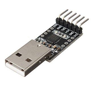 وحدة توصيل USB 2.0 إلى TTL UART بشريحة CP2102