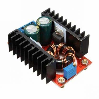 وحدة رفع الفولت القابلة للضبط بقدرة 150 وات بشدة تيار 6 أمبير