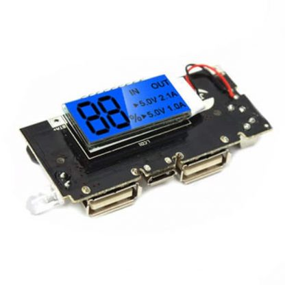 Dual USB 5V 1A 2.1A Mobile Power Bank 18650 Lithium Battery Charger Board Module