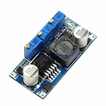محول خفض جهد قابل للضبط LM2596HVS DC-DC مع إمكانية ضبط التيار  و الفولت
