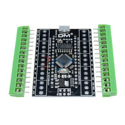 Atmega328P Nano 3.0 CH340 USB Driver +Terminal Adapter expansion board 2 in 1 for Arduino