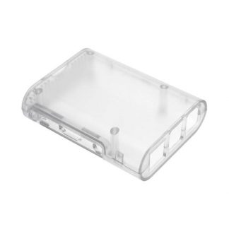 Raspberry Pi Case for Model B+ & Raspberry Pi 2/3 - Transparent