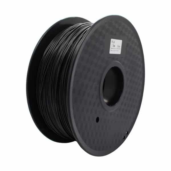 خامة طباعة PLA قطر 1.75 مم - اسود - بكرة 1 كجم