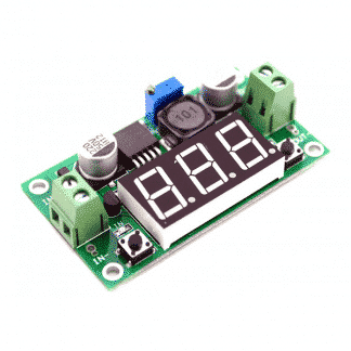 LM2596 DC 3.0A Step Down Adjustable Module with Voltmeter