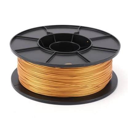 3D Printer PLA Filament 1.75mm - Golden - 1Kg Spool
