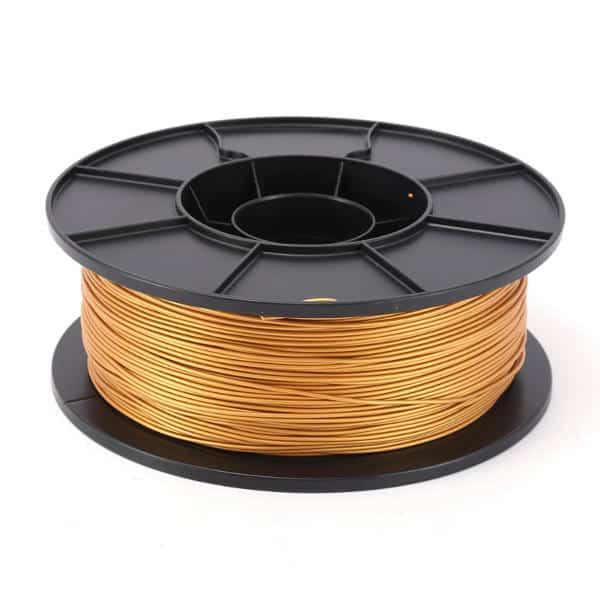 خامة طباعة PLA قطر 1.75 مم - ذهبي - بكرة 1 كجم