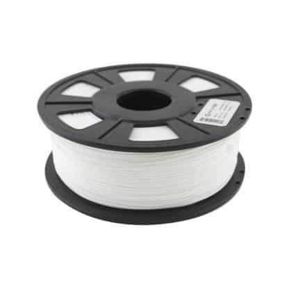 3D Printer PLA Filament 1.75mm - White - 1Kg Spool